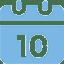 Medical calendar icon